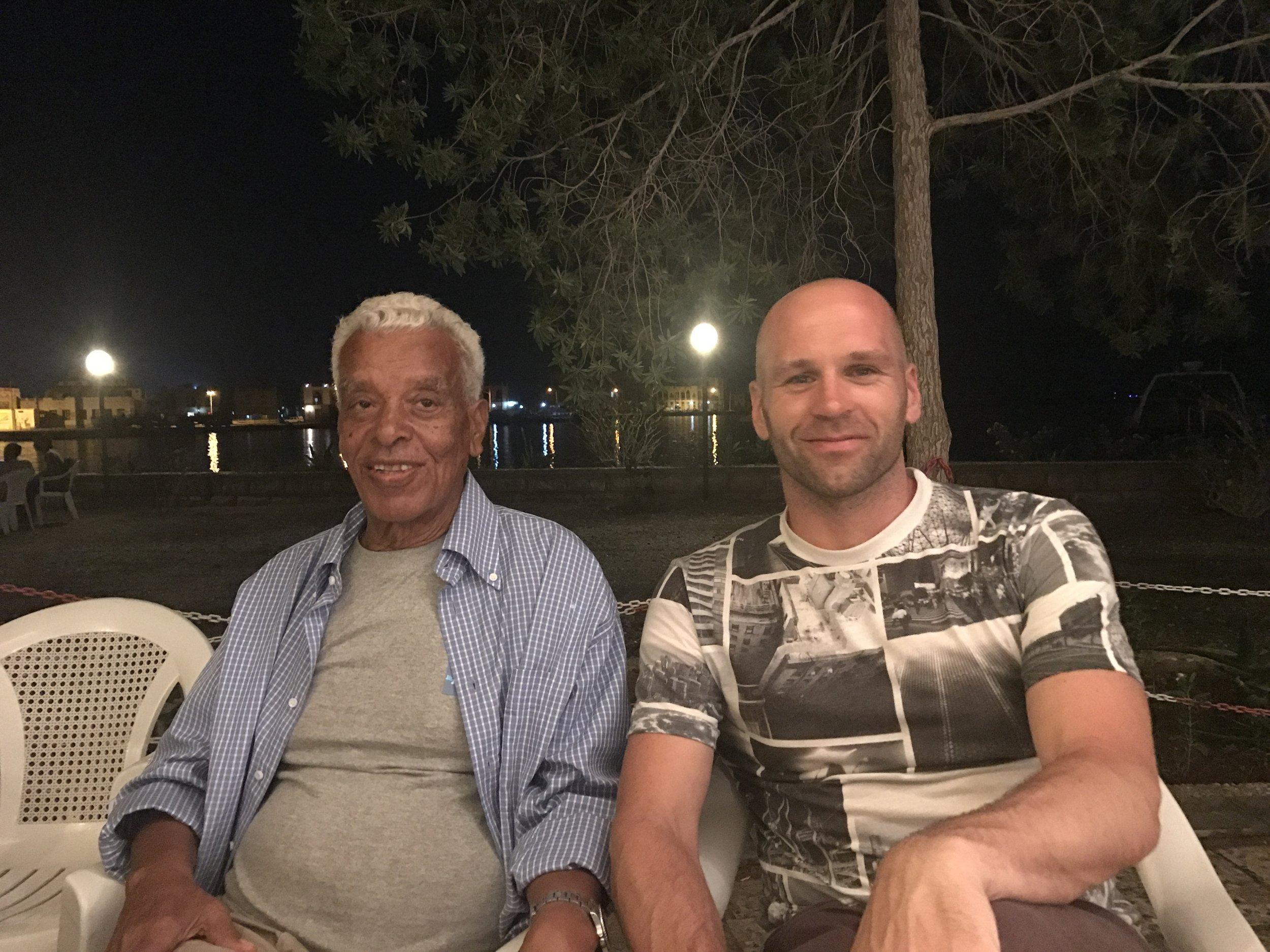 Peter Santenello in Asmara