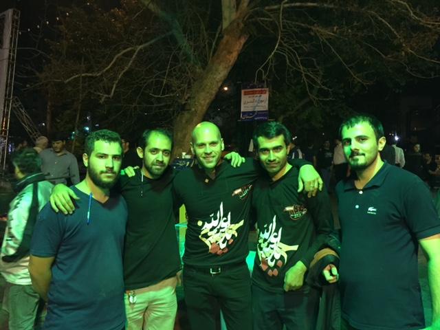 My first night in Tehran.