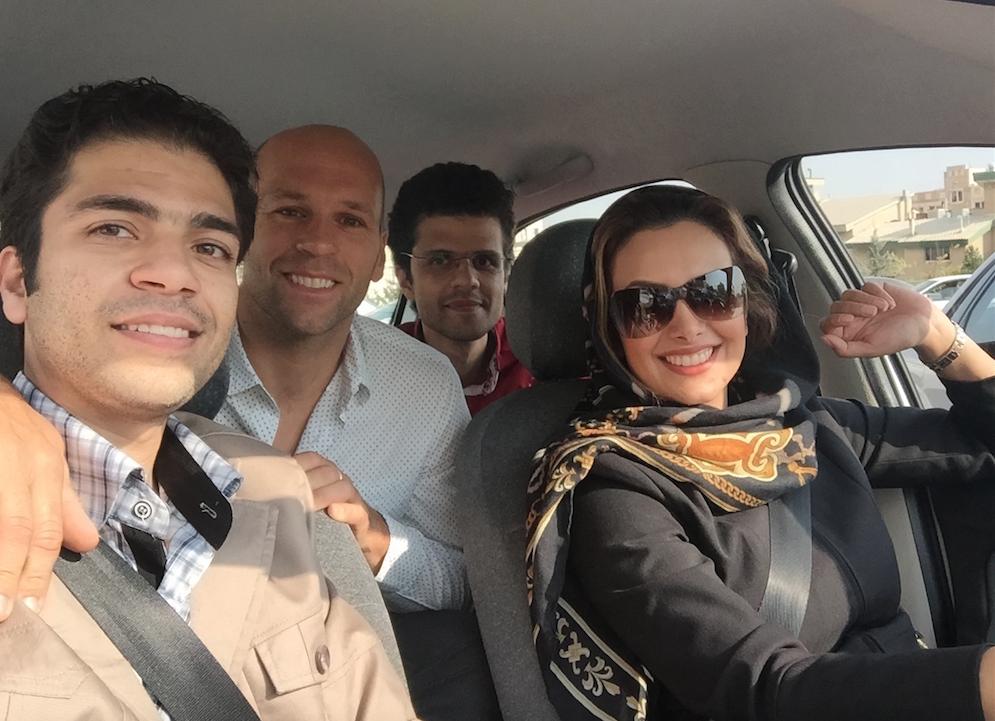 My new friends in Iran