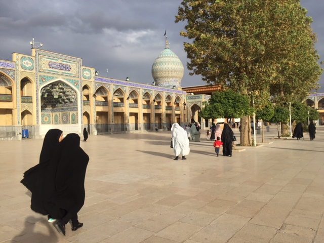 Women in hijab (Iran)