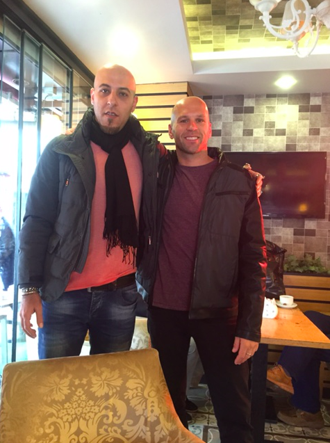American and Syrian in Istanbul, Turkey