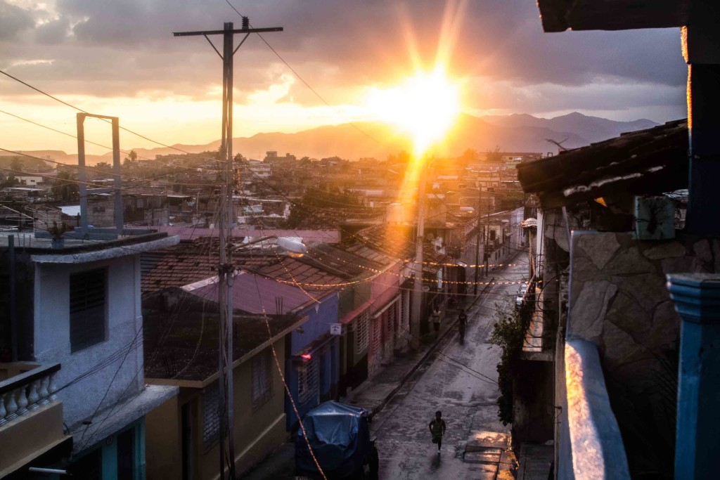 Sunlight and the city in Cuba