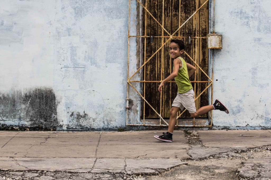 Young child in Cuba