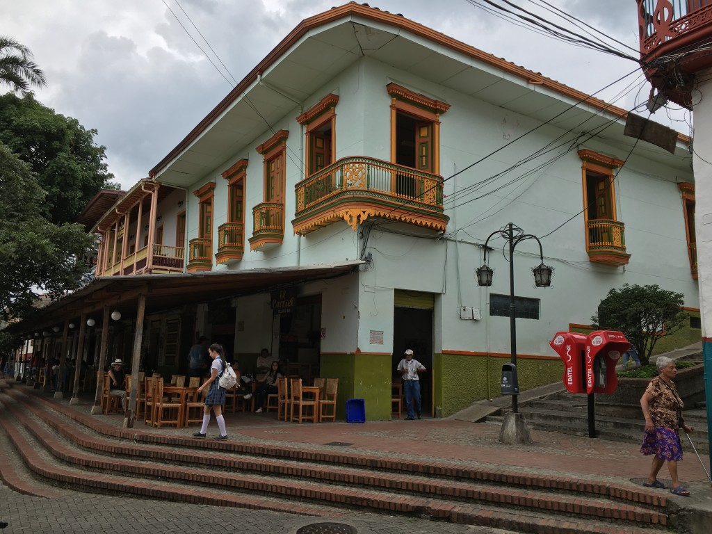 Building in Colombia