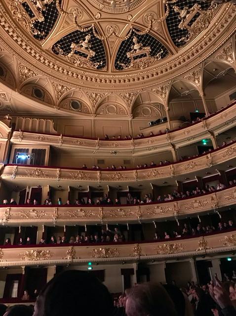 Inside of the Opera House in Kyiv, Ukraine