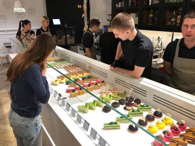 Desserts in Kyiv, Ukraine