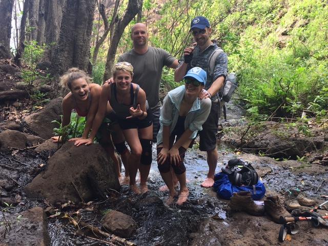 Five Americans in Kauai