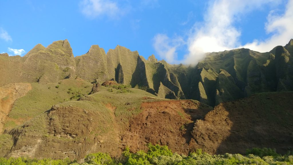 Mountains in Kauai