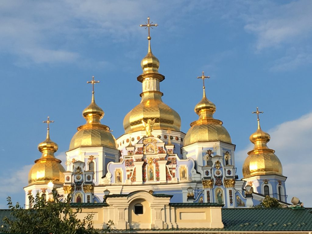 A beautiful church in Ukraine