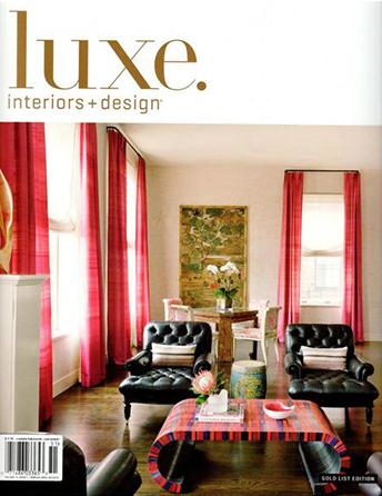 "Luxe. Interiors & Design magazine Winter 2015 ""Voice Over"" Interior Designer Shazalynn Cavin-Winfrey of SCW Interiors in Alexandria, Virginia Sotto Voce"