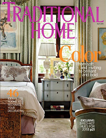 "Traditional Home magazine April 2015 ""Seismic Spectrum"" Interior Designer Shazalynn Cavin-Winfrey of SCW Interiors in Alexandria, Virginia designs a period home in Washington DC"