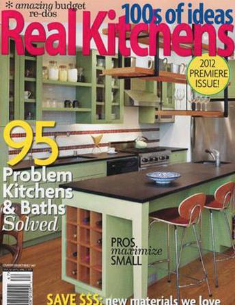 Real Kitchens magazine Premier Issue 2012 Interior Designer Shazalynn Cavin-Winfrey of SCW Interiors