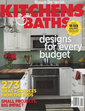 "Kitchens & Baths by Women's Day Specials 2012 ""Simply Natural"" Interior Designer Shazalynn Cavin-Winfrey of SCW Interiors in Alexandria, Virginia designed a simple and elegant kitchen"