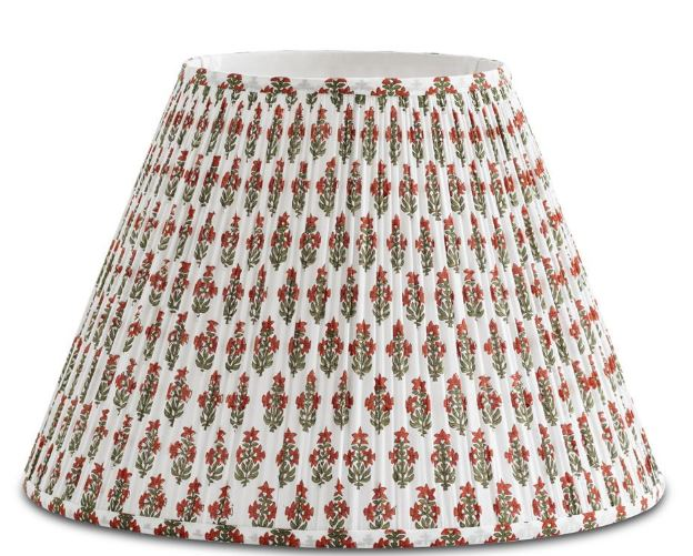 Bunny Williams Home,   Prickly Poppycape Lampshade