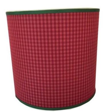 Elle Daniel,   Red Drum Lampshade