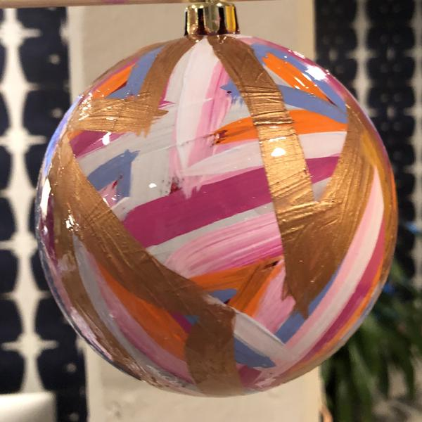 SCW Interiors Life Hacks Blog Post : My Holiday Wish List that includes this Lindsay Cowles christmas ornament