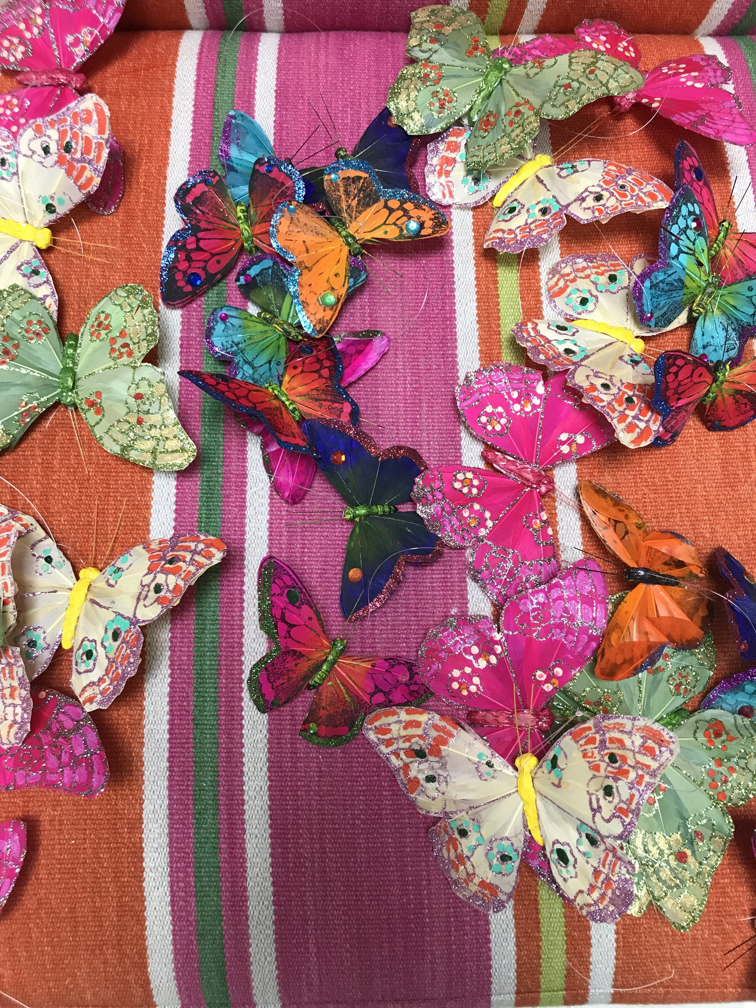 Taking Down the Christmas Tree - Butterfly Garland.jpg