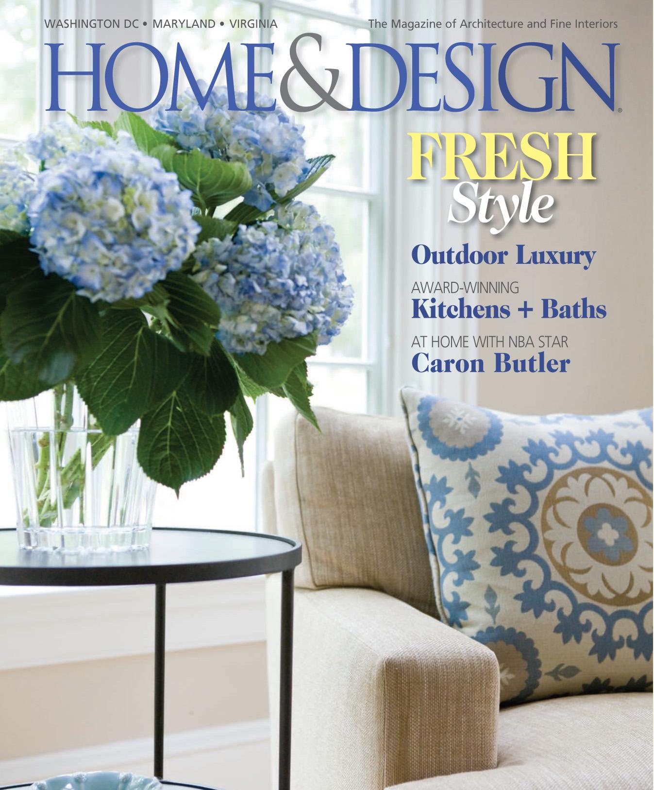 "Home & Design magazine Spring 2013 ""Tres Chic"" Interior Designer Shazalynn Cavin-Winfrey of SCW Interiors Winner of HGTV's ""Showhouse Showdown"""