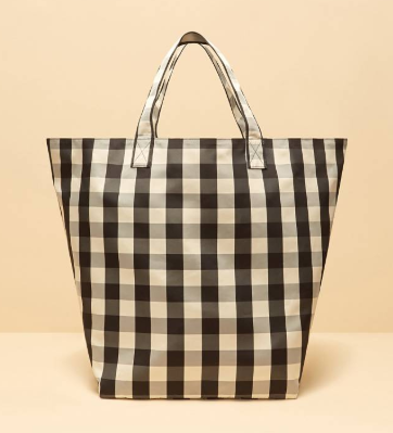 Trademark Large Gingham Grocery Tote.PNG