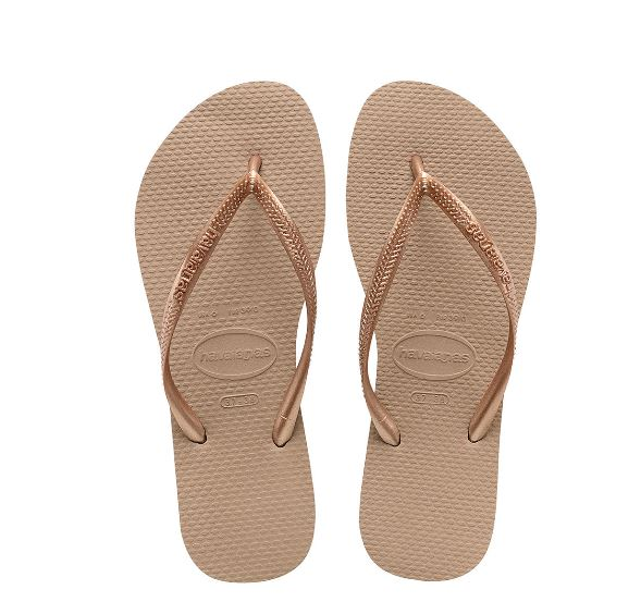 Havaianas - Women's Slim Flip Flops Rose Gold