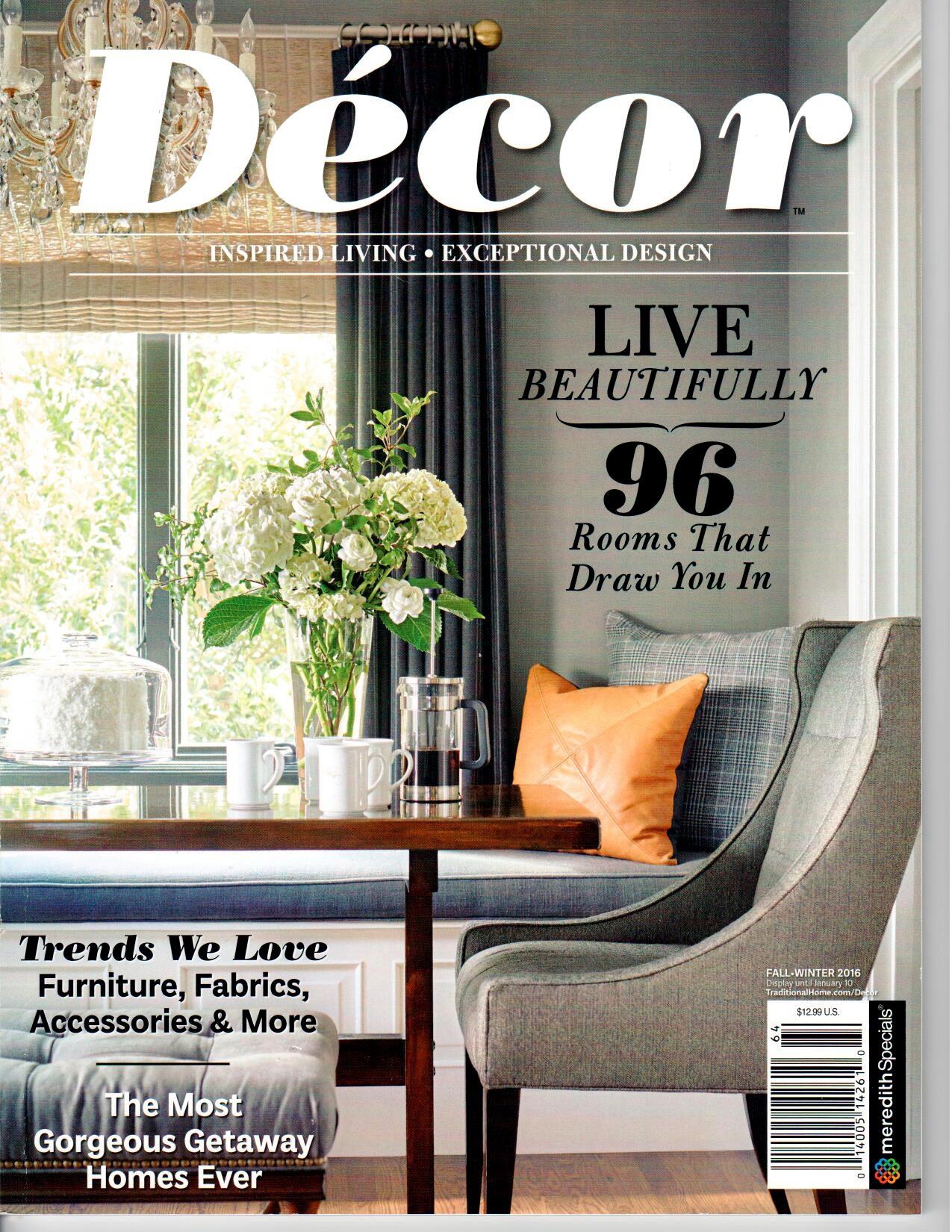 House Beautiful Magazine April 2017 Interior Designer Shazalynn Cavin-Winfrey of SCW Interiors in Alexandria, Virginia