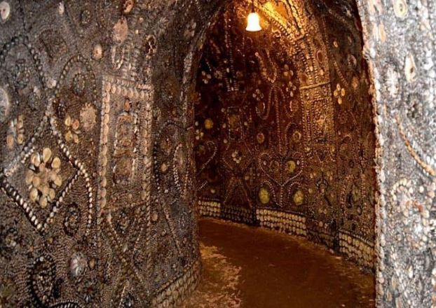The Shell Grotto of Margate was discovered in 1835! To read more about it, please click   here  . Photo credit  historicmysteries.com .