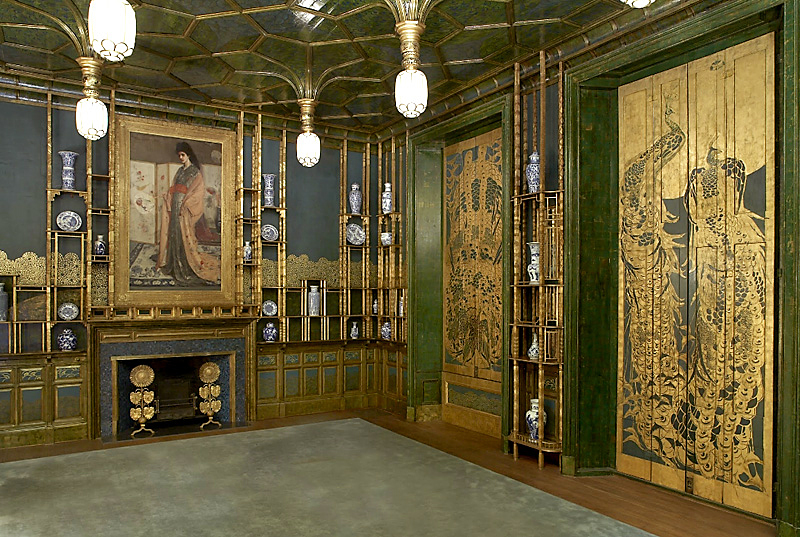 The Whistler Peacock Room - Freer Sackler Gallery at the Smithsonian in D.C.