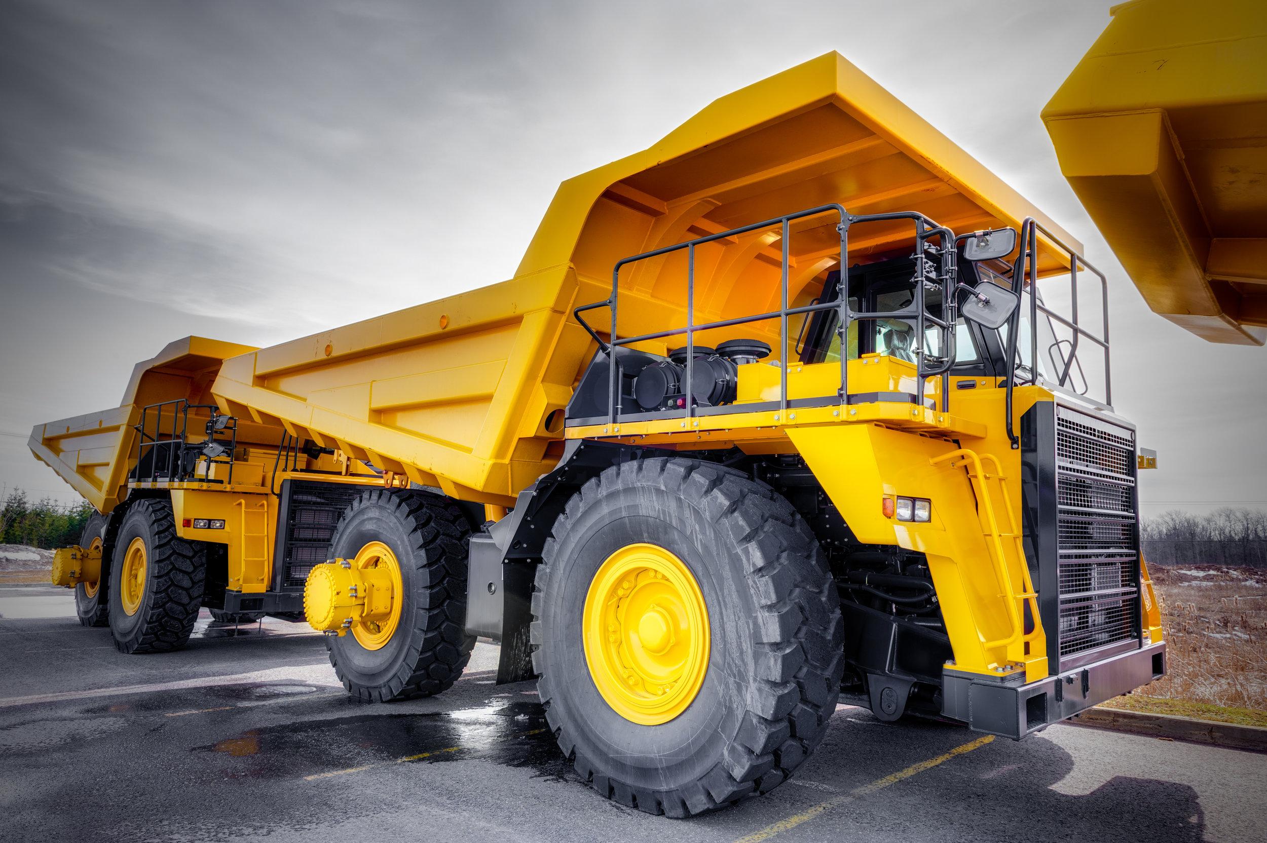 Haul Truck Equipment Rental