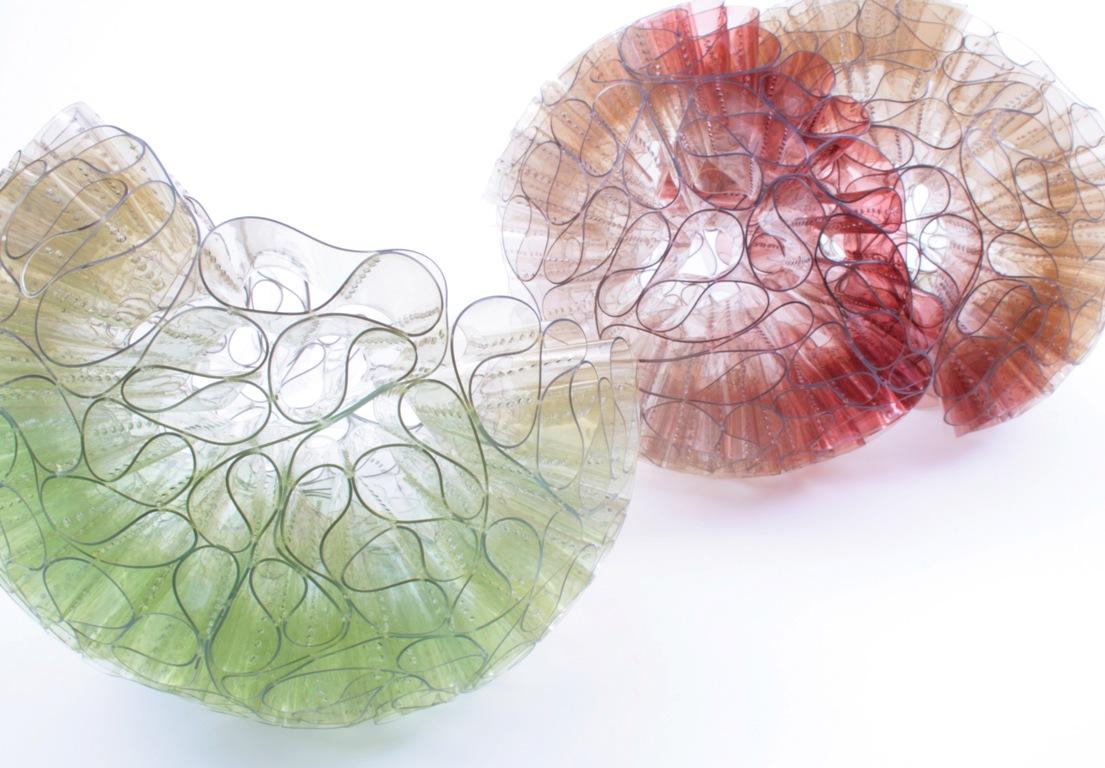 Doris Jurzak, Hierarchy, 2011, hand-dyed PVC
