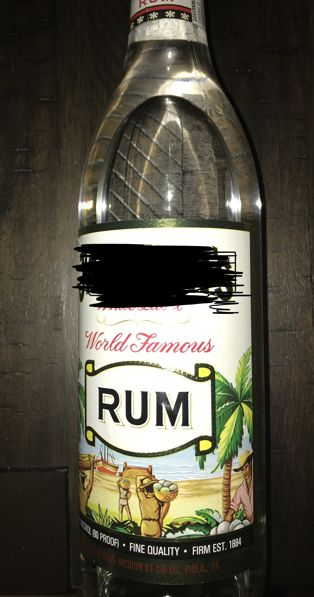 White Rum choose your brand(s)