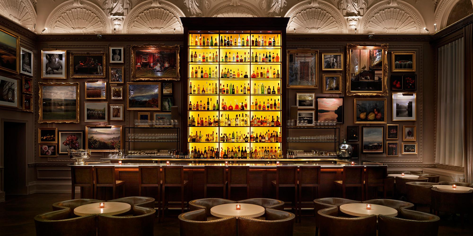 Berner's Tavern. 10 Berners St, Fitzrovia, London W1T 3NP. Photo  Edition Hotels .