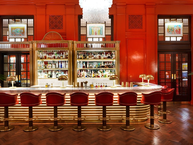The Coral Room 16-22 Great Russell Street, Bloomsbury, London WC1B 3NN. Photo  Vogue .