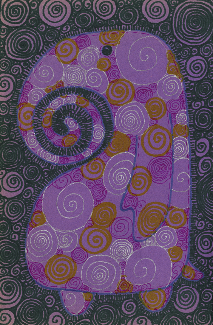 Purple Proboscis