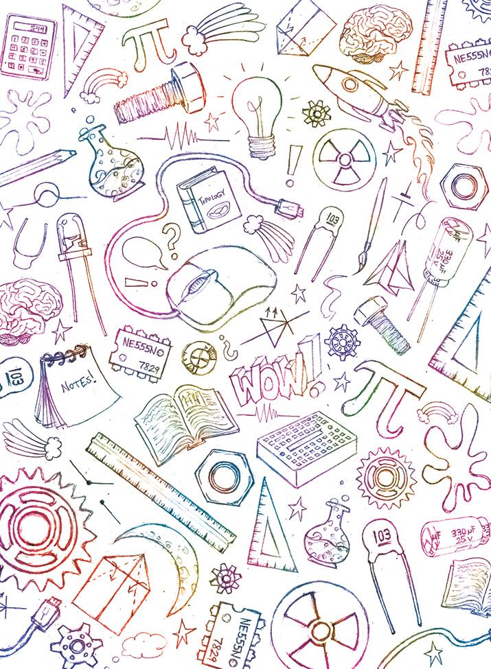 STEM Notebook Cover Design