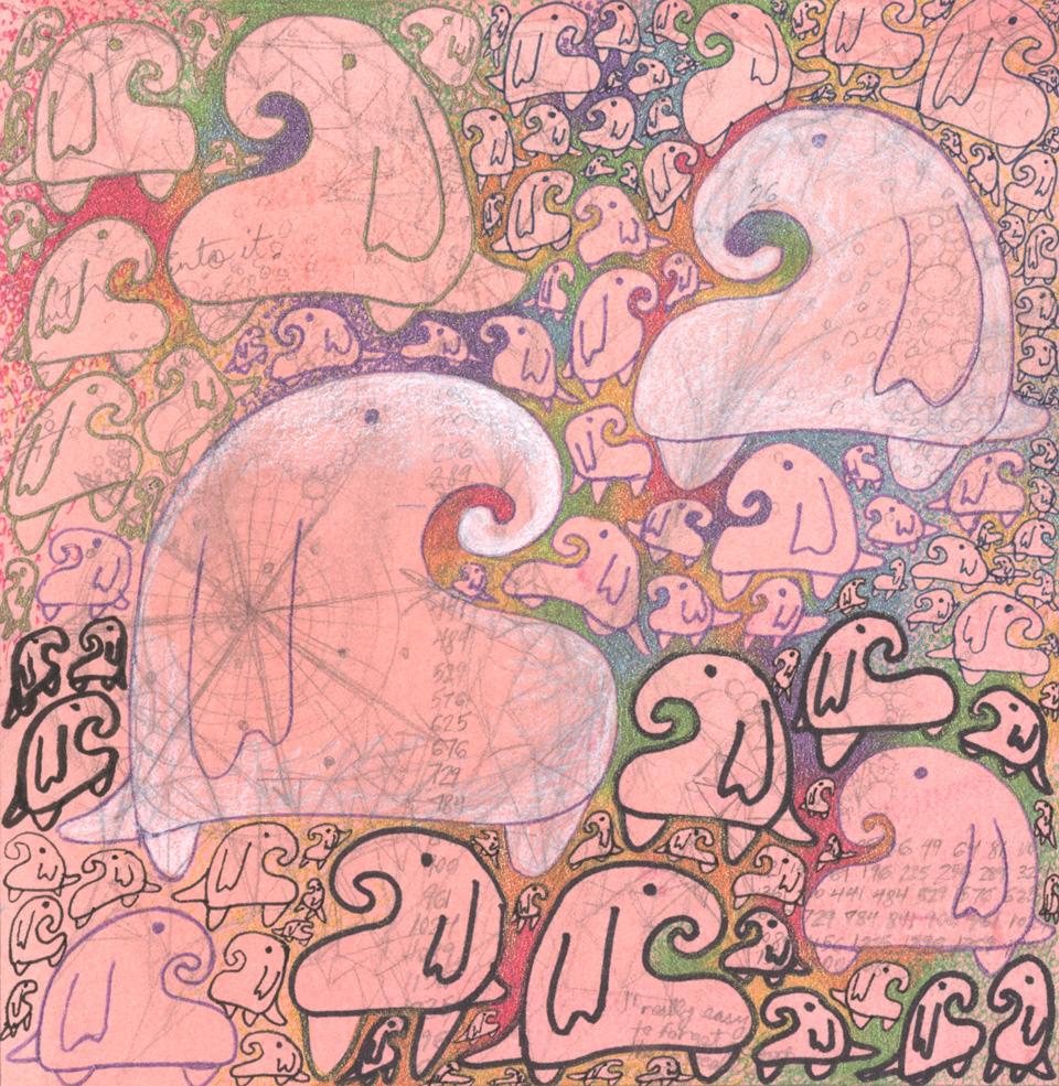 Proboscis Sketch, Red