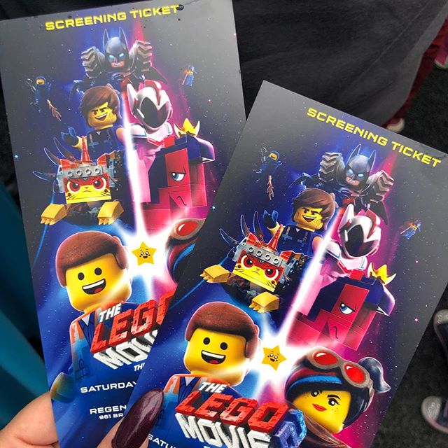 🎬 LEGO Movie 2 Premiere was AWESOME. Thanks to my dear friend @dmuslan for the invite. I don't think my son fully gets how lucky he is but that's teenagers for you. 💁🏻‍♀️👦🏻 — #legomovie2 #legomovie #batman #hollywood #losangeles #moviepremiere