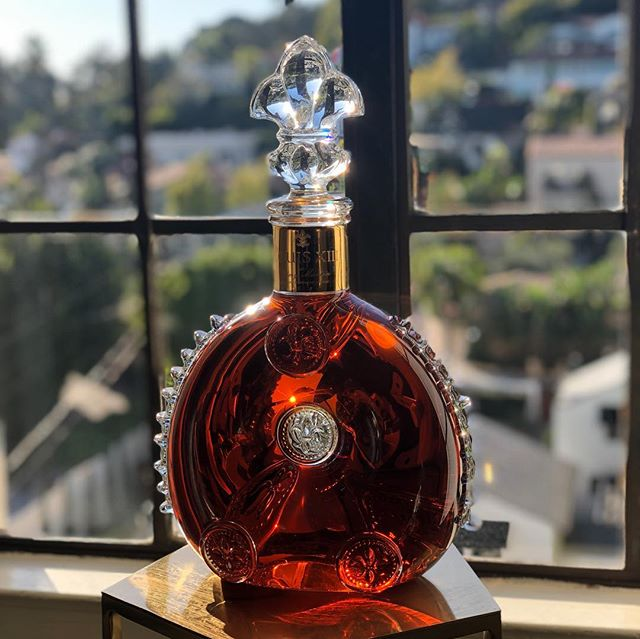 Beautiful afternoon with friends learning about the collaboration between Pharrell Williams and LouisXIII. Thank you @wyc809! — #ifwecare #louisxiii #hollywood #losangeles #cognac #chateaumarmont