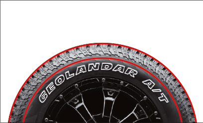 Wide Tread Profile  The wide Tread Profile supports longer mileage, traction and high speed performance.