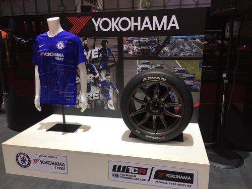 YOKOHAMA Fussball Sport Chelsea FC Sponsoring