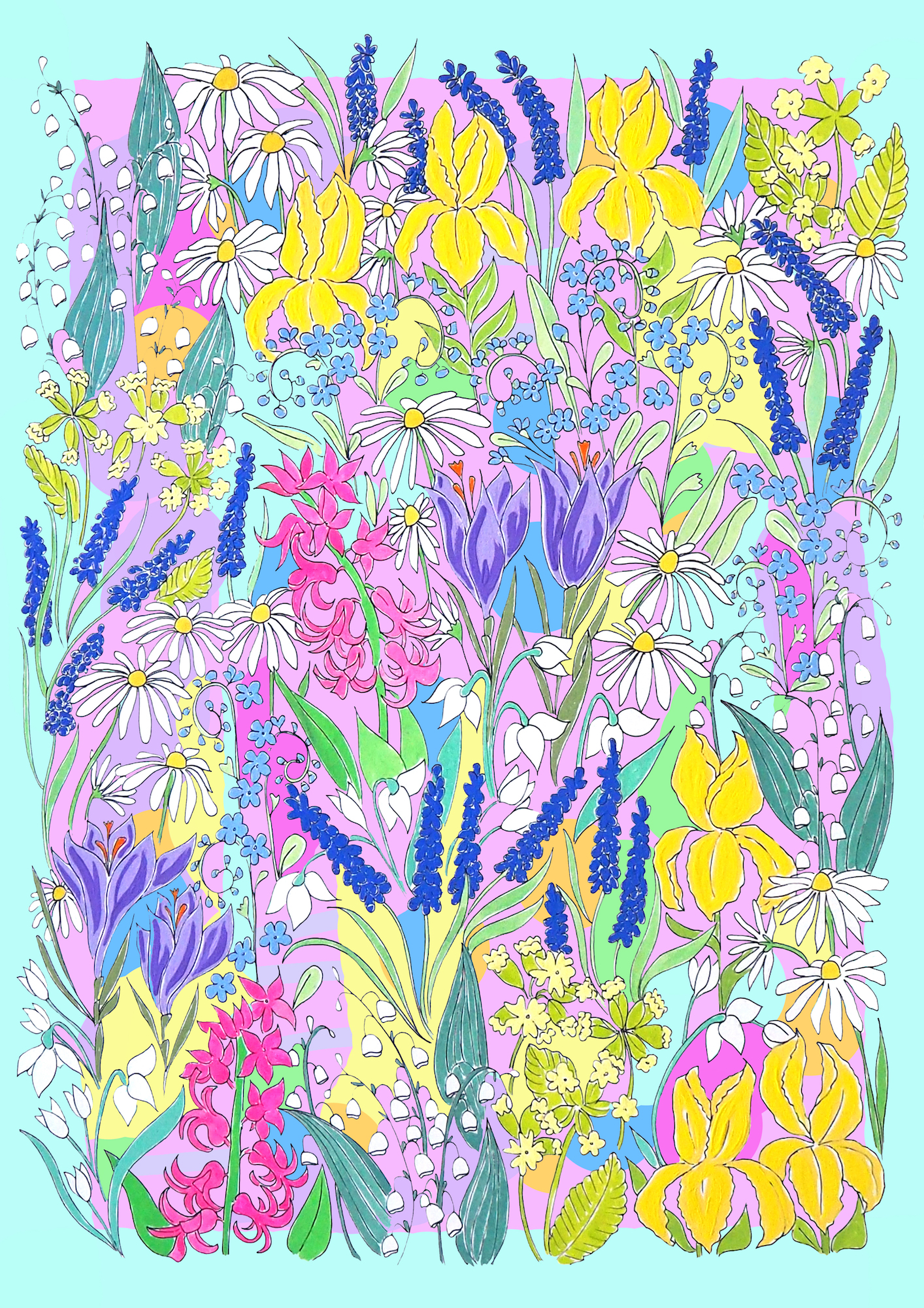 Spring flowers background multicoloured.jpg