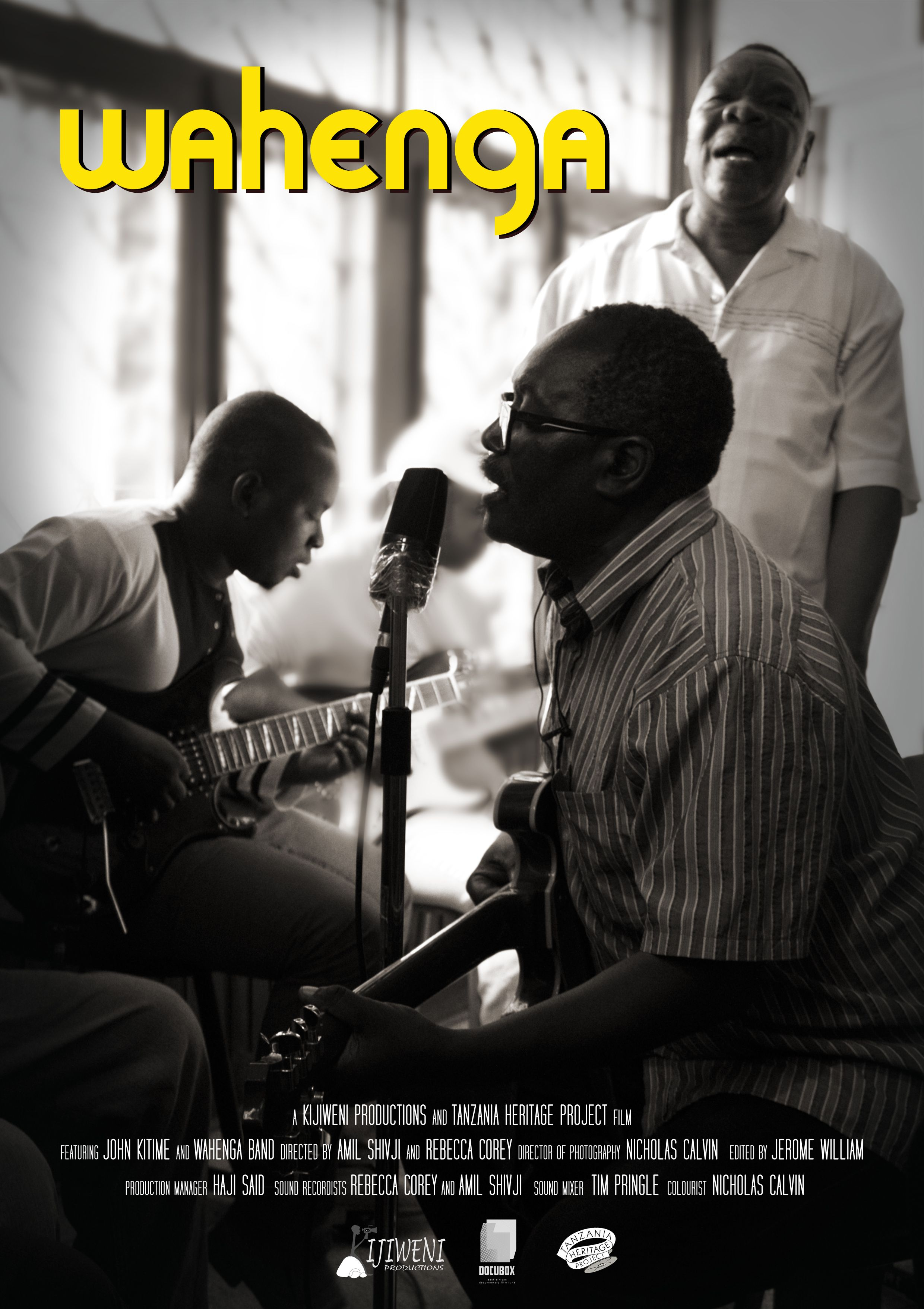 "Wahenga, 2018 - Wahenga is an Afro Jazz documentary, a first in East Africa, illuminating the genre of music known as 'Zilipendwa'.  More than just the soothing 'golden era' of dance music it is known as, Zilipendwa characterises a post-independence era common in Africa, where state-sponsored recordings served to unite people and create a common national identity. Synopsis: John Kitime, an energetic musician in his 60s, puts together a band to revive the dying sound of Tanzanian Zilipendwa, music from the early independence era. Weaving memories of the past and dreams for the future, John and his bandmates revisit the era of gleaming horns and packed dance halls as they struggle to keep the music alive in a passionate argument for ""the ones that were loved"