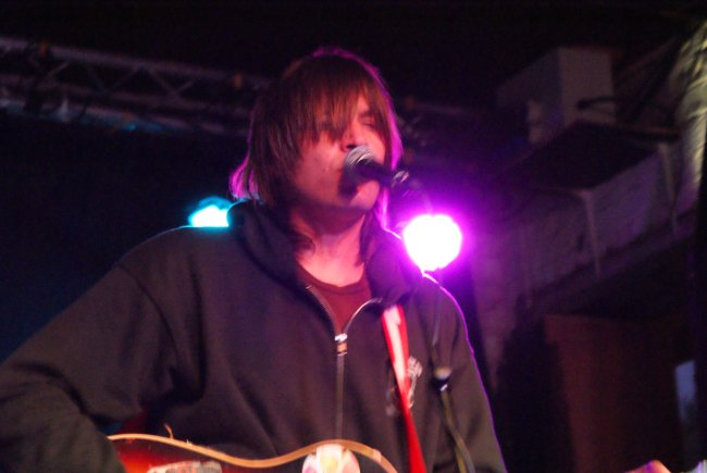 Evan Dando live at The Cluny, Newcastle upon Tyne - 26th May 2008  Photo by Stuart Goodwin