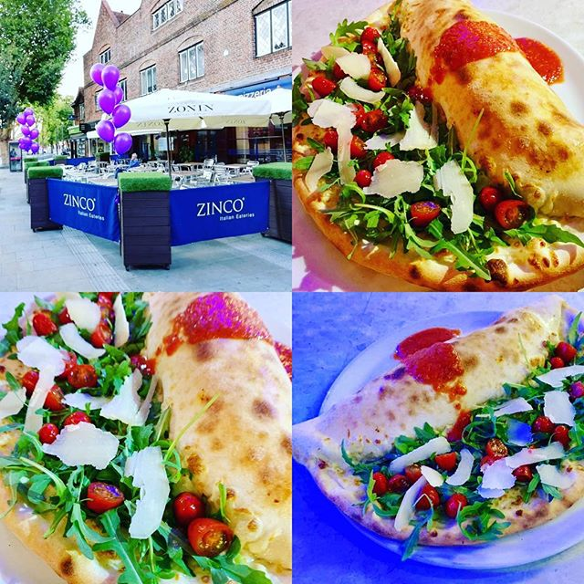 Come and try our delicious Pizza of the month, Mezzo-Mezzo, the best of both pizza and Calzone...along with other delicious seasonal specials on all the Month of May, Only at Zinco's, Buon Appetito!! #watford #wfc #watfordforyou #watfordobserver #pizza #calzone #pizzeria #italianrestaurant #monthlyspecials #seasonalfood #goodfood #familyrun #authenticitalian #specialsmenu #hertfordshire #london