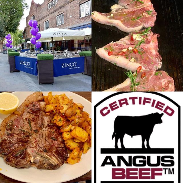 T Bones on the Grill!! Try them at Zinco's by special request 48hours required. We only use grass feed slowly matured prime Certified Angus Beef, Marinated And grilled to perfection!! Buon Appetito! #watford #hertfordshire #watfordforyou #wfc #london #tbonesteak #angusbeef #specials #menu #chefs #fiorentine #meat #carne #cookedtoorder #carnivores #supportlocalbusiness #supportsmallbusiness #familyrun #italianrestaurant #goodfood #steak
