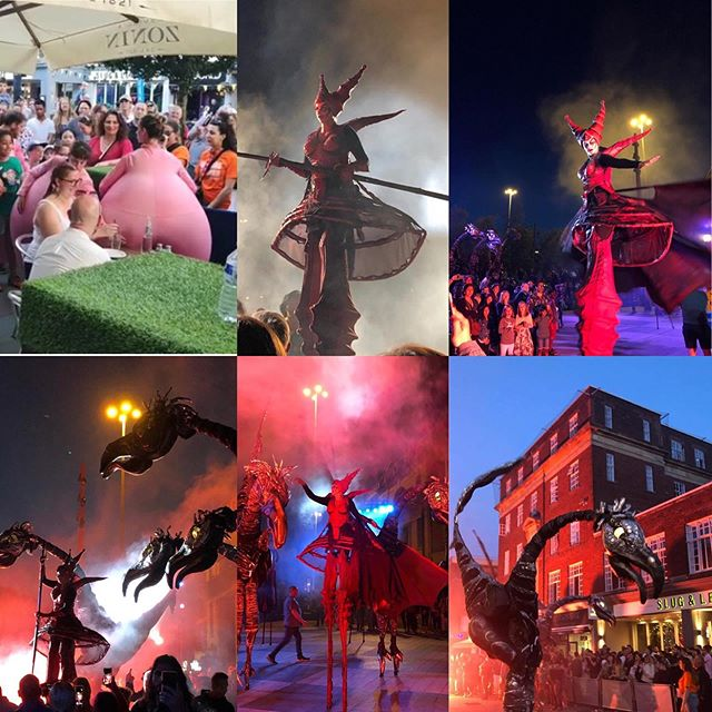 Great end to a very busy weekend, congratulations to Imagine Watford for putting on a great spectacle up and the Parade! #imaginewatford #watfordpalacetheatre #watford #hertfordshire #london #italianrestaurant #alfrescoeating #liveshows #weekend #goodfood #streetperformance #shows #pizzeria #entertainment #funinthesun #restaurants