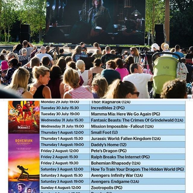 Watford free open air Big screen Cinema is back this Summer top end of the Parade!! Come and see us at Zinco's and enjoy delicious Italian food eating al Fresco before catching a movie!! #watfordbigevents #watford #movies #openairmovies #summer #freefilms #cinema #films #free #italianrestaurant #pizzeria #authenticitalian #goodfood #alfrescodining #weekend #openaircinema #hertfordshire #london