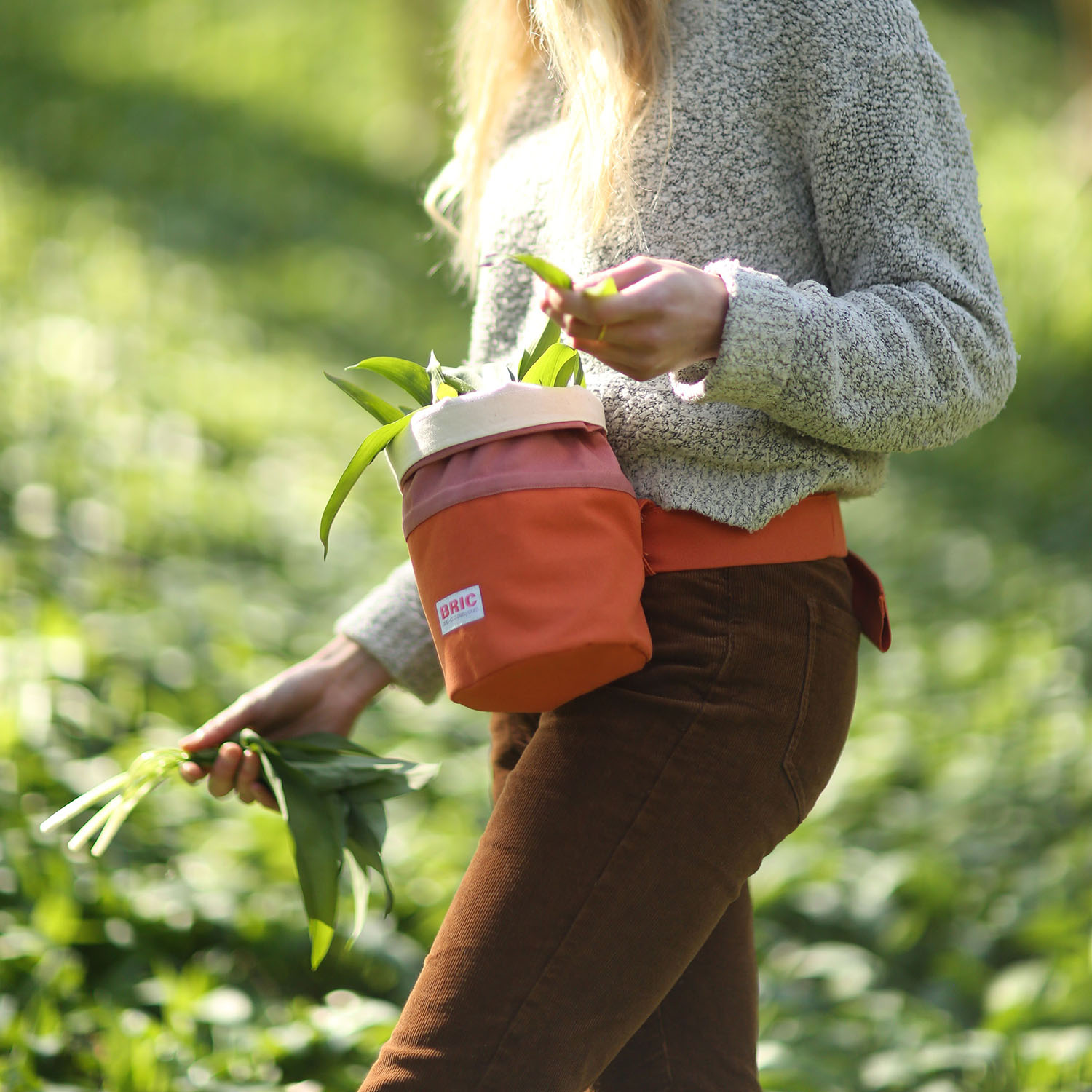 Foraging for nature's bounty made easy with BRIC's colourful eco-conscious bags