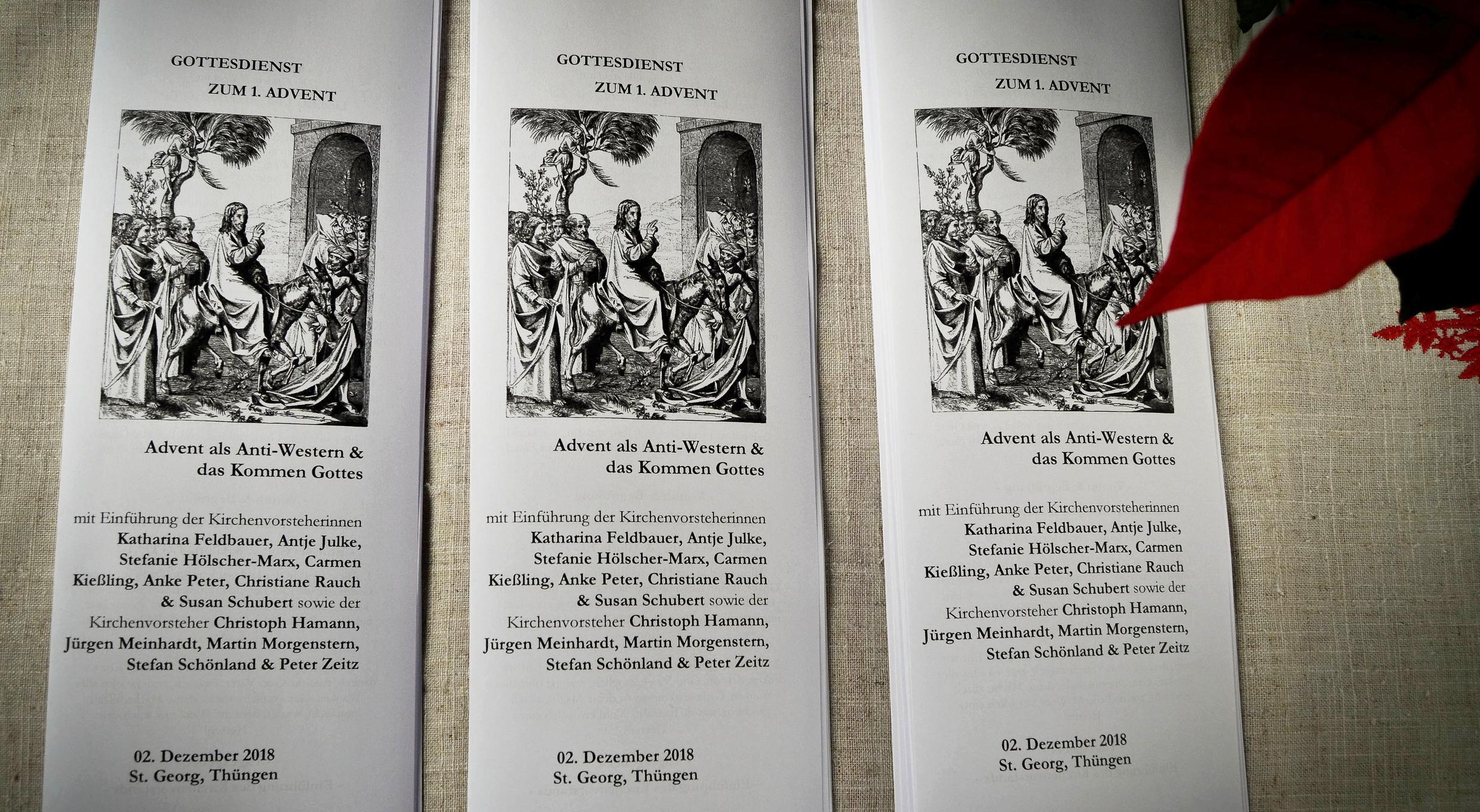 Am 1. Advent findet die Einführung des neu gewählten Kirchenvorstandes in der Kirche St. Georg in Thüngen statt. Der Gottesdienst beginnt um 10.oo Uhr.