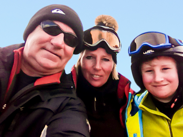 English Ski School Customers