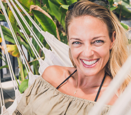 Hi, I'm Beata, - the founder of Fit Chill Out Retreats and I believe everyone has the power to live life the way they want, and there's no rule that says you've gotta figure this out in a therapy room.These days I help women create change in their live through life-coaching and, mind-body experiences, but things weren't always this clear.I've been in an endless cycle of starting and stopping...never moving forward, until I realized that all my efforts wouldn't work unless I proactively created a time and place to reconnect and dive into my true self.Once I did that I was able to look in the mirror and smile at the confident and authentic lady I saw there.Achieving what I wanted and needed has never been as joyful and simple as it is now.I want this for you too. That's why I started Fit Chill Out & created The Positively Me Retreat.When you step away for just a short time to focus on your fitness, mindset and YOU...you can turn things around fast.This is your chance to live your life by design.